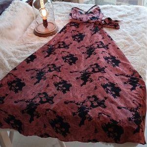 Lulus Maxi Halter Dress Size XS